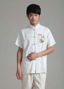 Tradition Chinese  Kung fu Tai chi Martial arts Jacket clothes Top Shirt Linen