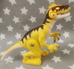 Jurassic World Velociraptor Action Figure Hasbro Roars & Lights Up Playskool