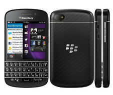 New Original Unlocked BlackBerry Q10 16GB  OS10 8MP GPS Smartphone Black