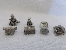 Pirates Of The Caribbean Monopoly Game       6 Pewter Tokens Only