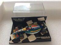 F1 Jordan Peugeot EJR 195  R.Barrichello ,Minichamps - 1:43 OVP