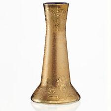 C.1900 Val St. Lambert Copper over Cobalt glass vase by LEON Ledru