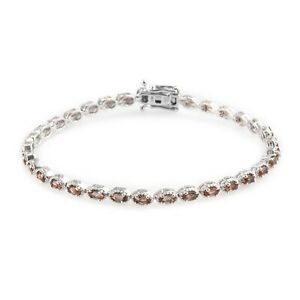 """925 Sterling Silver Andalusite Bracelet Jewelry Gift For Women Size 7.25"""" Ct 8.3"""