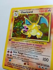 Pokemon TCG: Charizard 1st Edition - Base Set - Spanish - 1999 WOTC - VERY RARE!