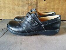 Clarks Unstructured Un.Esma Loafer - Black Leather - SZ 6M