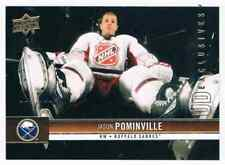2012-13 UPPER DECK UD EXCLUSIVES JASON POMINVILLE 075/100 BUFFALO SABRES #21