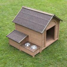 Big Wooden Dog Cat Kennel Outdoor Comfort Large Winter Weatherproof Warm House