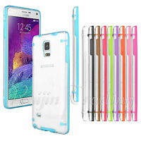Ultra Slim Transparent Crystal Clear Hard Case Cover For Galaxy S4 S6 Note 3/4