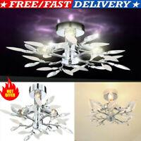 LED Crystal Ceiling Light Chandelier Lamp Modern Kitchen Bed Living Room Lights*