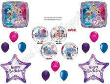 SHIMMER AND SHINE Orbz  HAPPY Birthday Party Balloons Decoration Supplies Genie