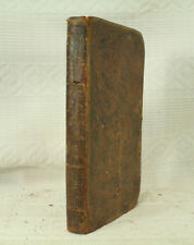 antique old Leather book THE ENGLISH READER Prose Poetry Utica 1827 Murray Tracy