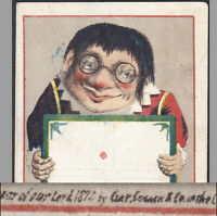 Oldest? 1870 © dated Clay, Cosack & Co Chromolithograph Victorian Trade Card