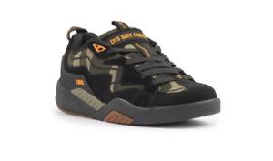 DVS F0000326003 Devious Mn`s (M) Black/Camo/Orange Suede Skate Shoes
