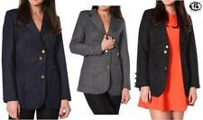 Hip Length Polyester Plus Size Suits & Tailoring for Women