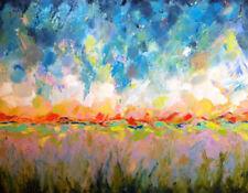 Zeitgenössische künstlerische Öl-Malerei auf Leinwand