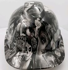 Vented Cap Hard Hat Custom Hydro Dipped Osha Approved Tattoo Babes New