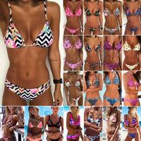 Women Bikini Set Bandage Push-Up Padded Swimwear Swimsuit Bathing Brazilian
