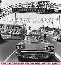 MARILYN MONROE WELCOME TO RENO (1) RARE 8x10 PHOTO