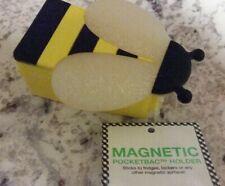 Bath & Body Works BEE Pocket ~Bac Magnetic Holder New Retired & Rare Bee Holder