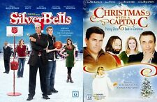 Silver Bells (2013) & Christmas With A Capital C (2011) 2 DVD Set, *Like New*
