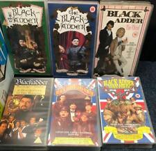 Black Adder Vhs films x 6