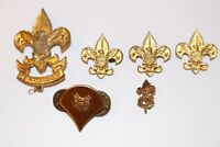 """Vintage Boy Scout Pins Lot of Six """"Be Prepared"""""""