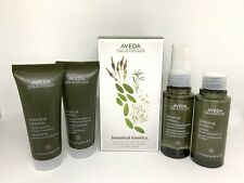 AVEDA Botanical Kinetics 4 Step Care Kit For Dry Skin New