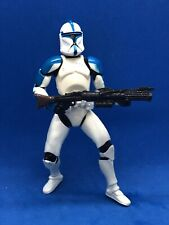 STAR WARS CW CLONE TROOPER LIEUTENANT LOOSE COMPLETE