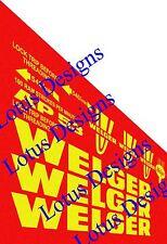 welger ap53 baler stickers / decals