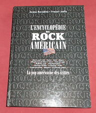 L'ENCYCLOPEDIE DU ROCK AMERICAIN  POP AMERICAINE DES SIXTIES  JOUFFA / BARSAMIAN