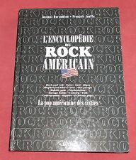 L'ENCYCLOPEDIE DU ROCK AMERICAIN  POP AMERICAINE DES SIXTIES  JOUFFA / BARSAMIAN