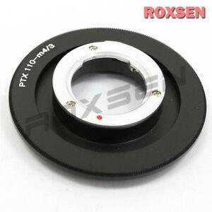 Pentax 110 P110 Lens to Micro 4/3 Mount M43 Adapter GH4 E-P5 PL6 GF6 GX7 OM-D