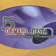 5 De Mayo: Fiesta Con Los Trios Románticos - Various Artists (CD) *NEW*