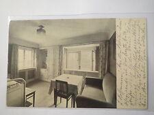Corps Bavaria - Corpshaus - Studentenwohnzimmer - 1916 Feldpost / Studentika