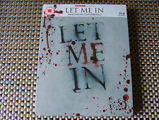 Blu Steel 4 U: Let Me In : Limited Edition Steelbook Sealed