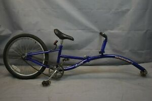 """Pathfinder Instep Tandem 20"""" Kids Bike Attachment Tag-A-Long Steel USA Charity!!"""