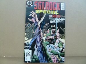"""Sgt. Rock Special # 5 """"All Rock Issue"""" 1989 Joe Kubert Our Army at War DC comics"""