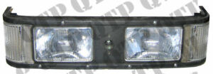 82011931 Head Lamp Assembly Compatible with Ford New Holland 60 M TM 8160, 8260