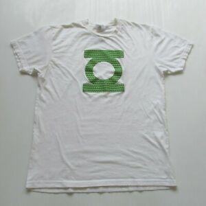 DC Comics Green Lantern Movie 2011 Promo Glow In The Dark Logo T-Shirt