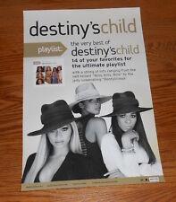 Destiny's Child The Very Best of Poster Promo Original Beyoncé 11x17