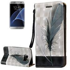 Cover Custodia Guscio Flip a Libro per Samsung Galaxy S7 Edge / G935 Sg253