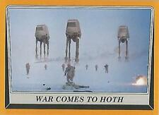 """Star Wars Rogue One: No 69 """"War Comes to Hoth"""" Gold Parallel Base Card #44/50"""
