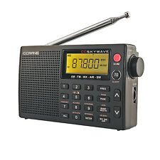 C. Crane CC Skywave AM FM Shortwave NOAA Weather, Airband Portable Travel Radio