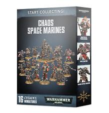 Start Collecting! - Chaos Space Marines Warhammer 40k Army Starter Set BNIB