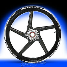 Adesivi moto HONDA SILVER WING RACING 5 stickers cerchi ruote wheels  mod.2