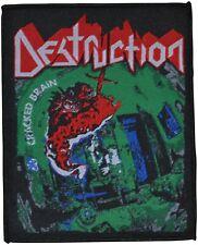 DESTRUCTION - Cracked Brain - 9,7 cm x 11,7 cm - Patch - 166588