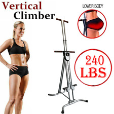 Adjustable Vertical Climber Machine Exercise Stepper Cardio Body Fitness Gym