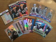 Lot 20 Cartes BLEACH Trading Cards TCG (10 Reg+5 Holo+5 Ultra) PANINI 2009 Fr