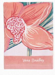 NWTs Vera Bradley Rain Forest Canopy Coral Beach Towel