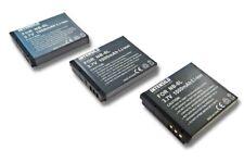 3x Batería 1000mAh para CANON POWERSHOT D10 SX270 HS SX500 IS SD770 es ACCU